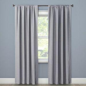 "84""x50"" Henna Blackout Curtain Gray - ONE Panel!"